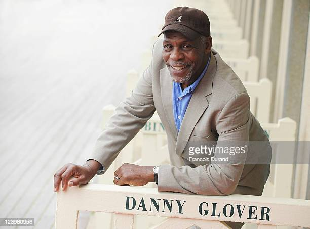 Danny Glover attends a homage ceremony at Promenade des planches during the 37th Deauville American Film Festival on September 7 2011 in Deauville...