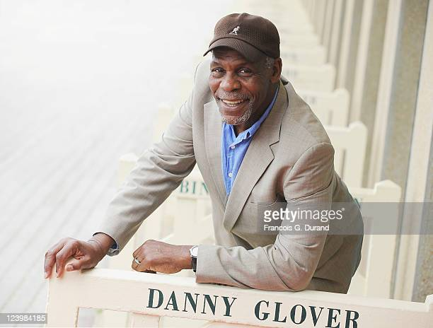 Danny Glover attends an homage ceremony at Promenade des planches during the 37th Deauville American Film Festival on September 7 2011 in Deauville...