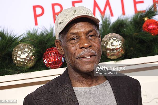 Danny Glover attends the premiere of Universal's 'Almost Christmas' at Regency Village Theatre on November 3 2016 in Westwood California