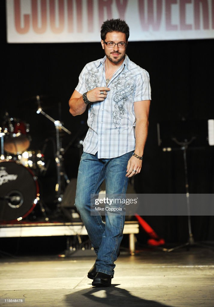 Danny Gokey attends Country Weekly's 5th annual fashion show & concert at Rocketown on June 7, 2011 in Nashville, Tennessee.