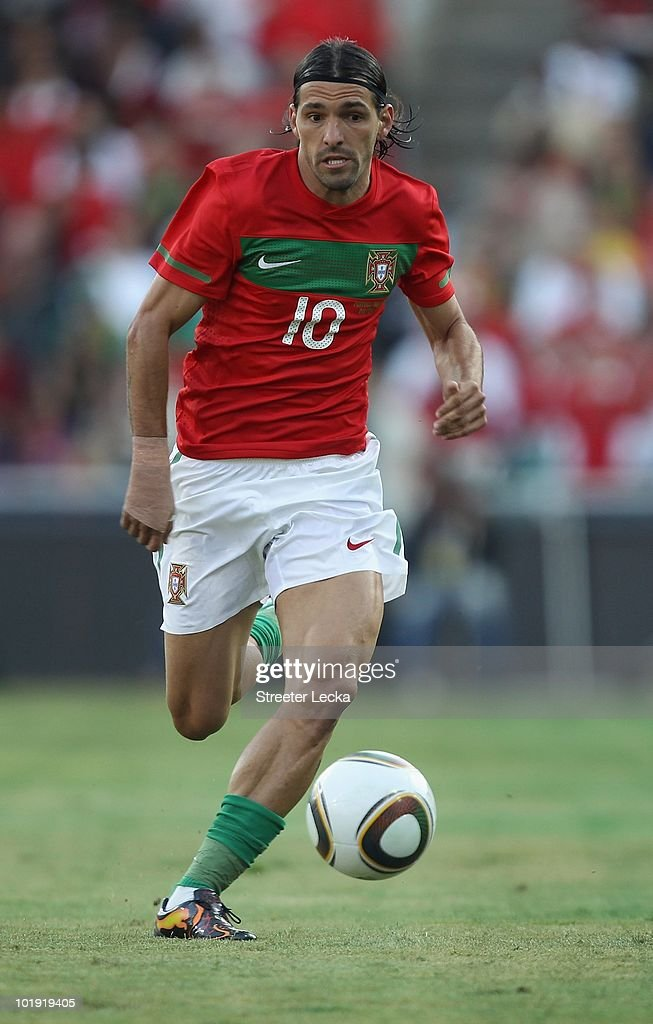Danny Gomes of Portugal during the international friendly match against Mozambique at Wanderers Stadium on June 8, 2010 in Johannesburg, South Africa.
