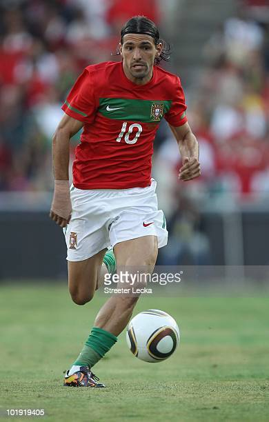 Danny Gomes of Portugal during the international friendly match against Mozambique at Wanderers Stadium on June 8 2010 in Johannesburg South Africa