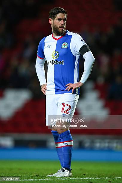 Danny Graham of Blackburn Rovers during the Sky Bet Championship match between Blackburn Rovers and Huddersfield Town at Ewood Park on December 3...