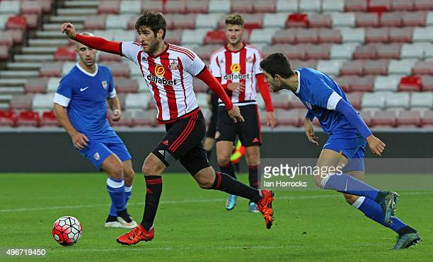 Danny Graham of Sunderland during the Barclays Premier League International Cup match between Sunderland and Athletic Bilbao at the Stadium of Light...