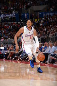 Danny Granger of the Los Angeles Clippers drives to the basket against the Phoenix Suns at Staples Center on March 10 2014 in Los Angeles California...