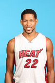 Danny Granger of the Miami Heat poses for a photo during Media Day at the America Airlines Arena in Miami Florida NOTE TO USER User expressly...