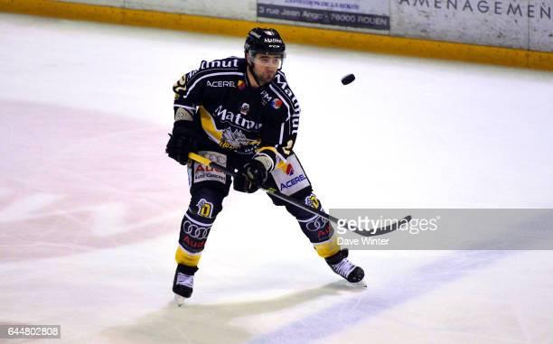 Danny GROUX Hockey sur glace Rouen / Briancon 1/2Finale Coupe de France Photo Dave Winter / Icon Sport