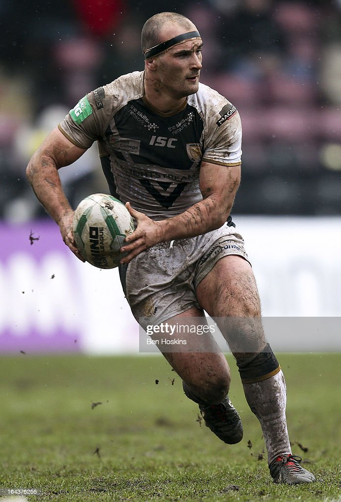 Danny Houghton of Hull in action during the Super League match between London Broncos and Hull at Twickenham Stoop on March 23, 2013 in London, England.