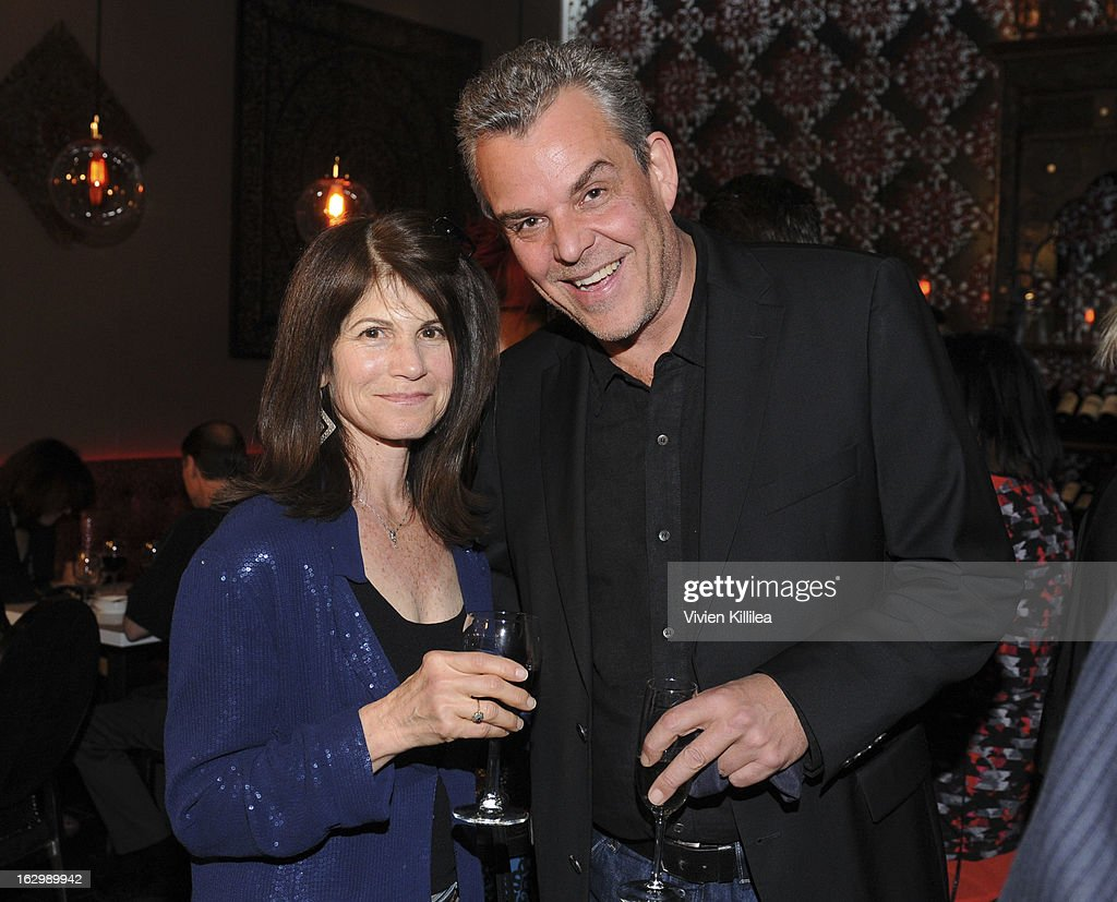 <a gi-track='captionPersonalityLinkClicked' href=/galleries/search?phrase=Danny+Huston&family=editorial&specificpeople=211465 ng-click='$event.stopPropagation()'>Danny Huston</a> (R) and a guest attend Seven Arts Presents The Grand Opening Of Ritual Cafe And Wine Bar on March 2, 2013 in Los Angeles, California.