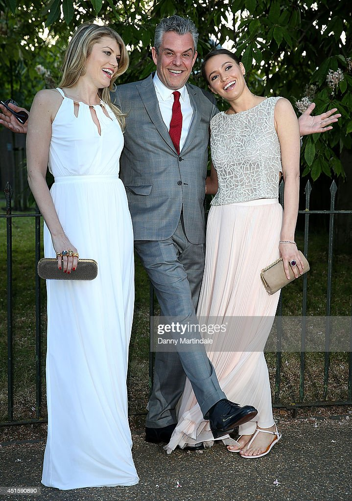<a gi-track='captionPersonalityLinkClicked' href=/galleries/search?phrase=Danny+Huston&family=editorial&specificpeople=211465 ng-click='$event.stopPropagation()'>Danny Huston</a> (C) and guests attend the annual Serpentine Galley Summer Party at The Serpentine Gallery on July 1, 2014 in London, England.