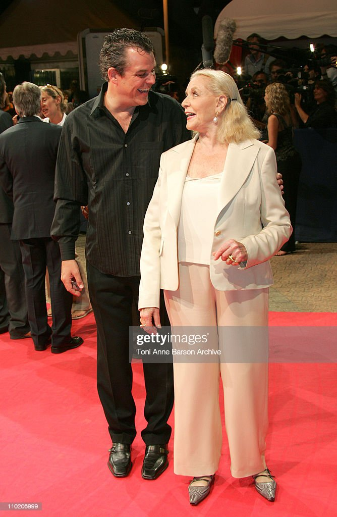 Danny Huston and Lauren Bacall during 30th Deauville American Film Festival 'Birth' Premiere at CID in Deauville France