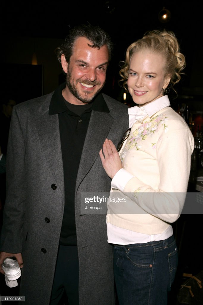 Danny Huston and Nicole Kidman during Back Stage West Hosts 'Birth' Question and Answer Session at Arclight Cinema in Los Angeles California United...
