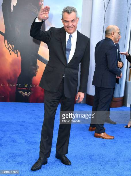 Danny Huston arrives at the Premiere Of Warner Bros Pictures' 'Wonder Woman' at the Pantages Theatre on May 25 2017 in Hollywood California