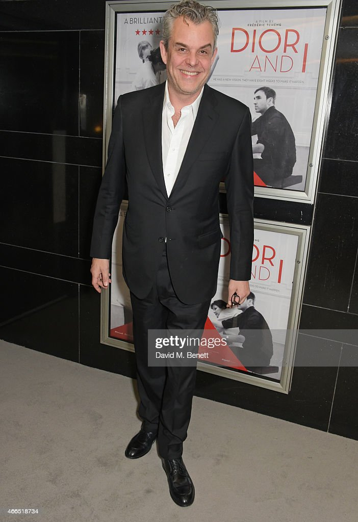 Danny Huston attends the UK premiere of 'Dior And I' at The Curzon Mayfair on March 16 2015 in London England