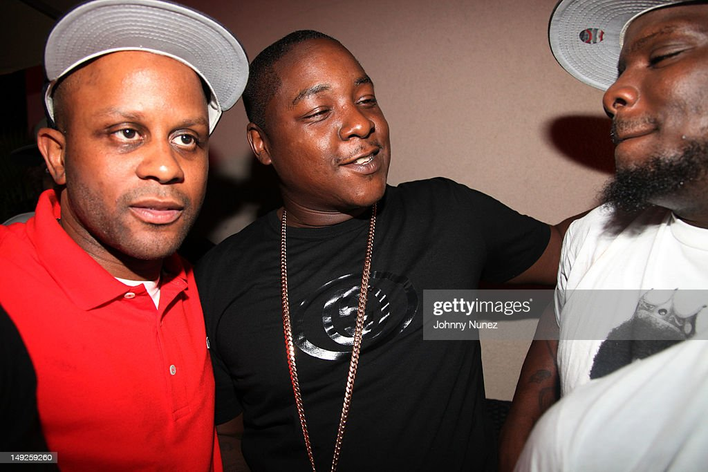 Danny, <a gi-track='captionPersonalityLinkClicked' href=/galleries/search?phrase=Jadakiss&family=editorial&specificpeople=224058 ng-click='$event.stopPropagation()'>Jadakiss</a> and guest attend Danny's Birthday Bash hosted by <a gi-track='captionPersonalityLinkClicked' href=/galleries/search?phrase=Jadakiss&family=editorial&specificpeople=224058 ng-click='$event.stopPropagation()'>Jadakiss</a> at the Harlem Beach Club on July 25, 2012 in New York City.
