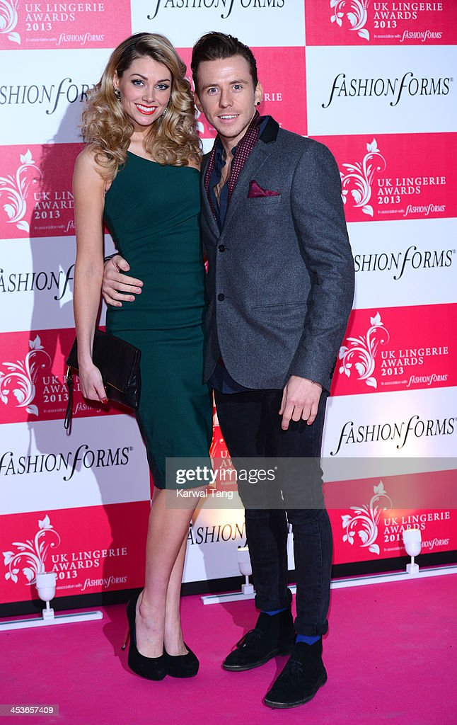 Danny Jones attends the UK Lingerie Awards held at the Freemasons Hall on December 4, 2013 in London, England.
