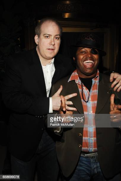 Danny Kane and Pascal Guest attend JD Ferguson Party at The Gates on June 4 2009 in New York City