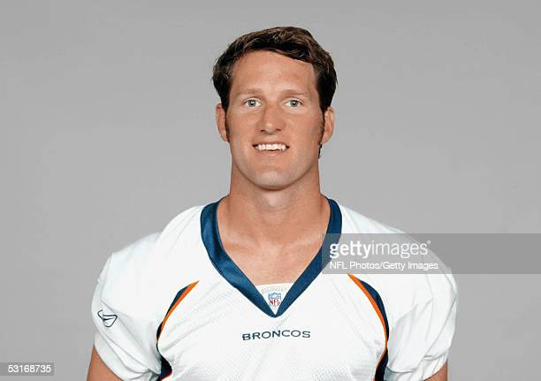 Danny Kanell of the Denver Broncos poses for his 2005 NFL headshot at photo day in Denver Colorado