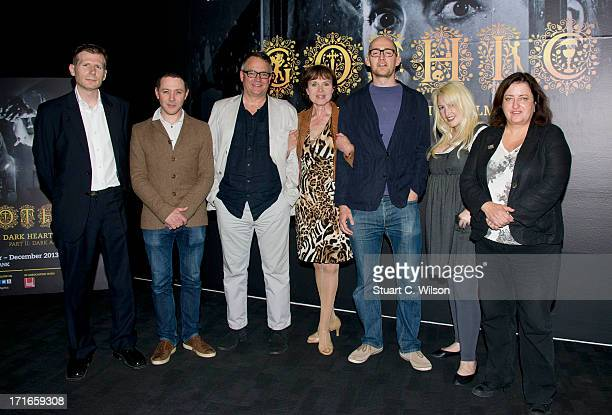 Danny Leigh Reece Shearsmith Charlie Higson Madeline Smith James Watkins Jane Goldman and guest attend a photocall to launch Gothic The Dark Heart Of...