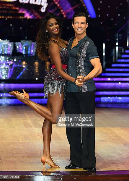 Danny Mac and Oti Mabuse attend Strictly Come Dancing Live Tour Photocall on January 19 2017 in Birmingham England