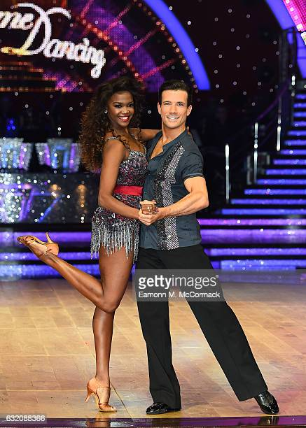 Danny Mac and Oti Mabuse attend the Strictly Come Dancing Live Tour Photocall on January 19 2017 in Birmingham England
