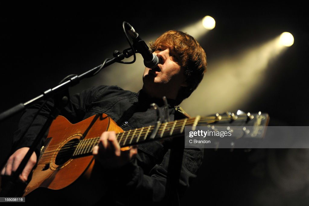 Danny Mahon performs on stage at Shepherds Bush Empire on October 26, 2012 in London, United Kingdom.