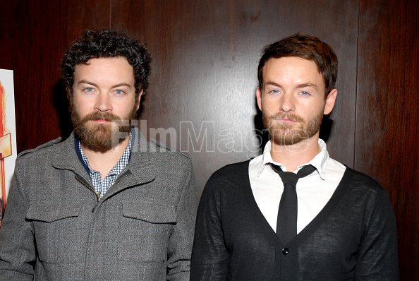 Danny Masterson and Chris Masterson attend the premiere of ...