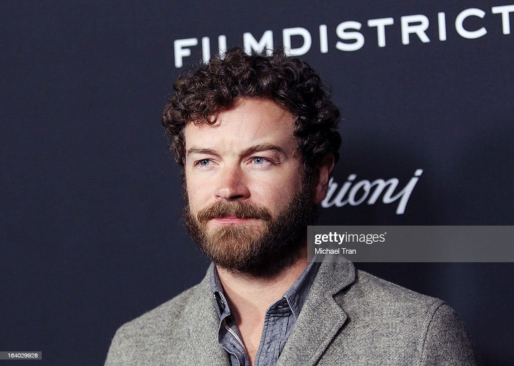 <a gi-track='captionPersonalityLinkClicked' href=/galleries/search?phrase=Danny+Masterson&family=editorial&specificpeople=239512 ng-click='$event.stopPropagation()'>Danny Masterson</a> arrives at the Los Angeles premiere of 'Olympus Has Fallen' held at ArcLight Cinemas Cinerama Dome on March 18, 2013 in Hollywood, California.