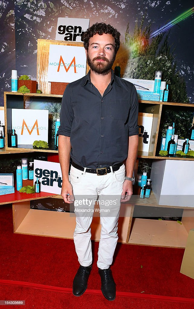 <a gi-track='captionPersonalityLinkClicked' href=/galleries/search?phrase=Danny+Masterson&family=editorial&specificpeople=239512 ng-click='$event.stopPropagation()'>Danny Masterson</a> at The Gen Art 14th Annual Fresh Faces In Fashion Presented By Moroccan oil held at Vibiana on October 17, 2012 in Los Angeles, California.
