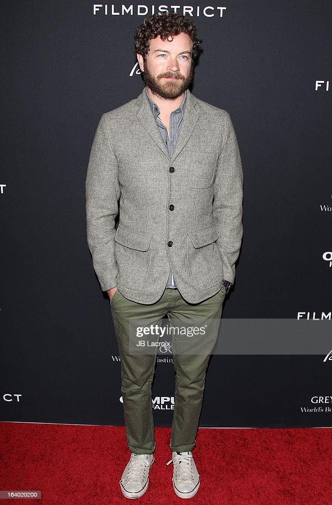 <a gi-track='captionPersonalityLinkClicked' href=/galleries/search?phrase=Danny+Masterson&family=editorial&specificpeople=239512 ng-click='$event.stopPropagation()'>Danny Masterson</a> attends the 'Olympus Has Fallen' Los Angeles Premiere held at ArcLight Cinemas Cinerama Dome on March 18, 2013 in Hollywood, California.