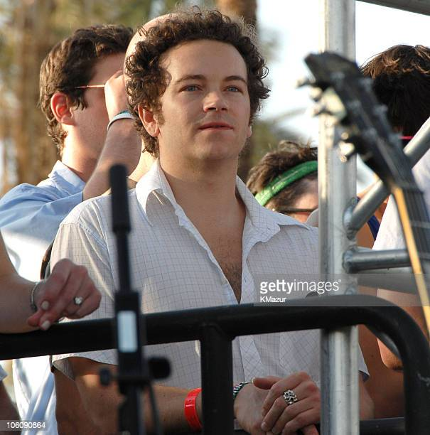 Danny Masterson during 2006 Coachella Valley Music and Arts Festival Day One Sightings at Empire Polo Field in Indio California United States
