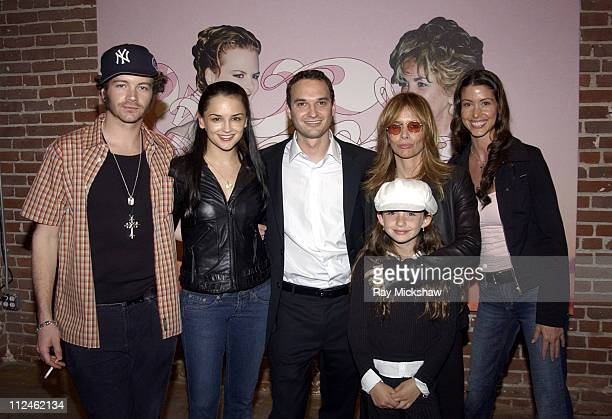 Danny Masterson Rachael Leigh Cook Jeff Vespa Rosanna Arquette and her daughter Zoe with Shannon Elizabeth