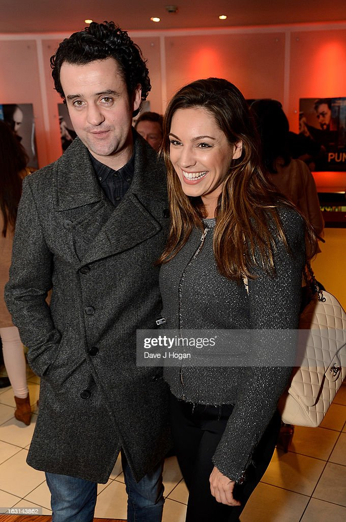 Danny Mays and Kelly Brook attend the 'Welcome To The Punch' UK Premiere at the Vue West End on March 5, 2013 in London, England.
