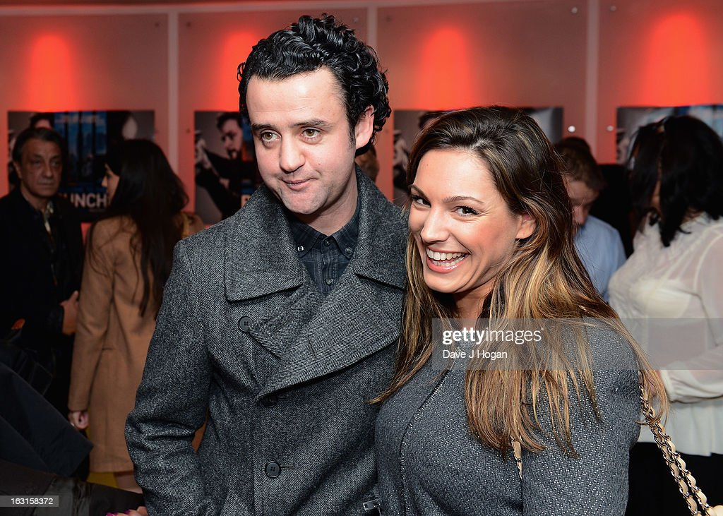 Danny Mays and <a gi-track='captionPersonalityLinkClicked' href=/galleries/search?phrase=Kelly+Brook&family=editorial&specificpeople=206582 ng-click='$event.stopPropagation()'>Kelly Brook</a> attend the 'Welcome To The Punch' UK Premiere at the Vue West End on March 5, 2013 in London, England.