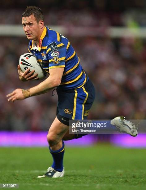 Danny McGuire of Leeds Rhino's in action during the Engage Super League Grand Final between Leeds Rhinos and St Helens at Old Trafford on October 10...