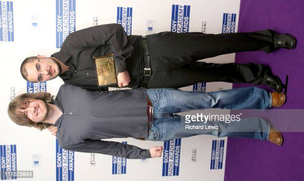 Danny McNamara and Zane Lowe winner of Music Broadcaster of the Year