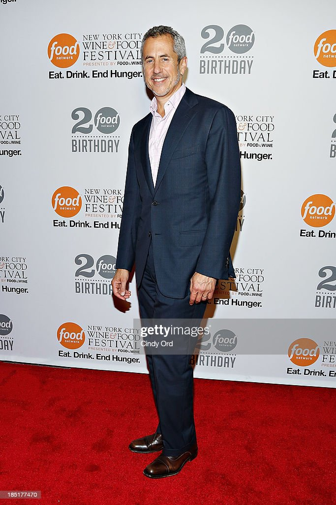 Danny Meyer attends Food Networks 20th birthday celebration at Pier 92 on October 17, 2013 in New York City.
