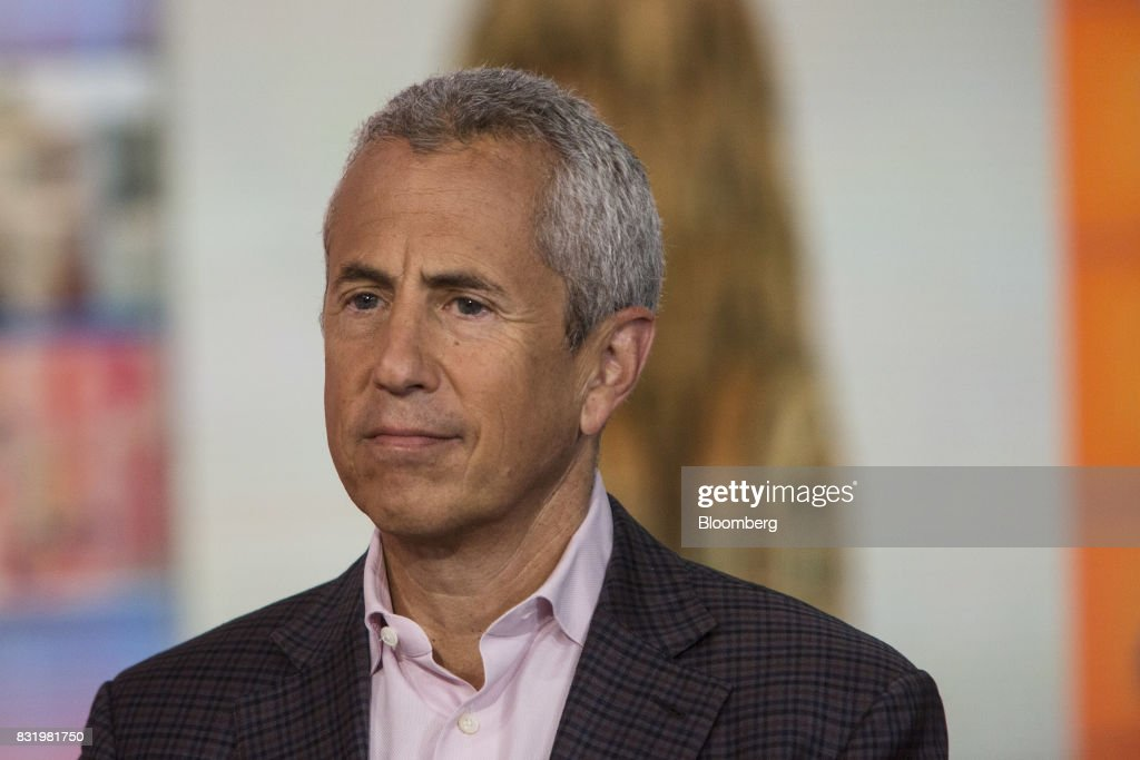 Danny Meyer, founder and chief executive officer of the Union Square Hospitality Group LLC, listens during a Bloomberg Television interview in New York, U.S., on Tuesday, Aug. 15, 2017. Meyer discussed the hiring challenges in restaurants and his 'employees first' philosophy. Photographer: Victor J. Blue/Bloomberg via Getty Images