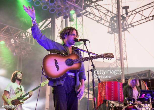 Danny Miller and Max Harwood of Lewis Del Mar performs Okeechobee Music Festival on March 3 2017 in Okeechobee Florida