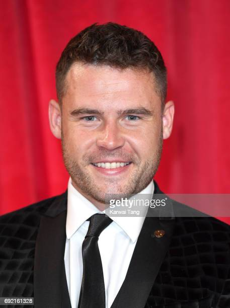 Danny Miller attends the British Soap Awards at The Lowry Theatre on June 3 2017 in Manchester England