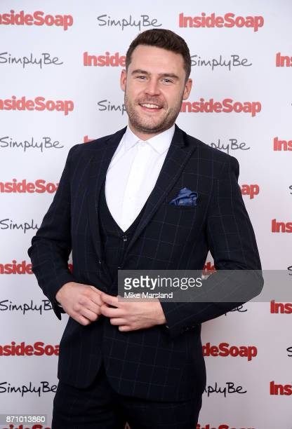 Danny Miller attends the Inside Soap Awards held at The Hippodrome on November 6 2017 in London England