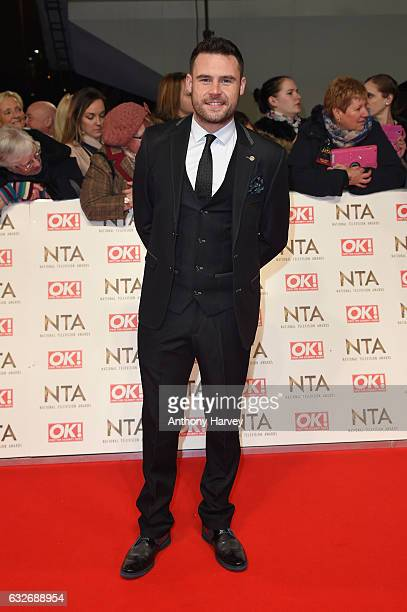 Danny Miller attends the National Television Awards on January 25 2017 in London United Kingdom