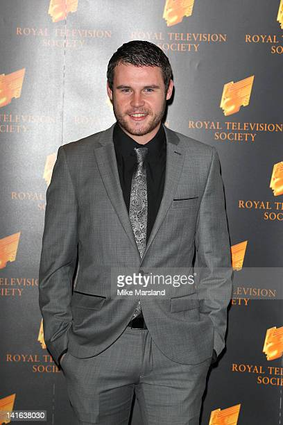 Danny Miller attends the RTS Programme Awards at Grosvenor House on March 20 2012 in London England