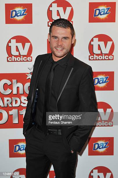 Danny Miller attends the The TVChoice Awards 2011 at The Savoy Hotel on September 13 2011 in London England