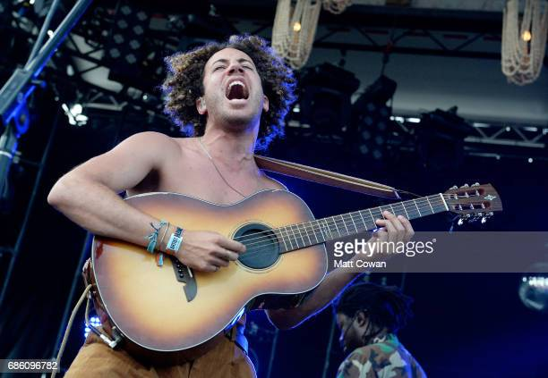 Danny Miller of Lewis Del Mar performs at the Fitz's Stage during the 2017 Hangout Music Festival on May 20 2017 in Gulf Shores Alabama