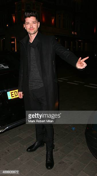 Danny O'Donoghue attending the Cosmopolitan Ultimate Women Of The Year Awards on December 3 2014 in London England