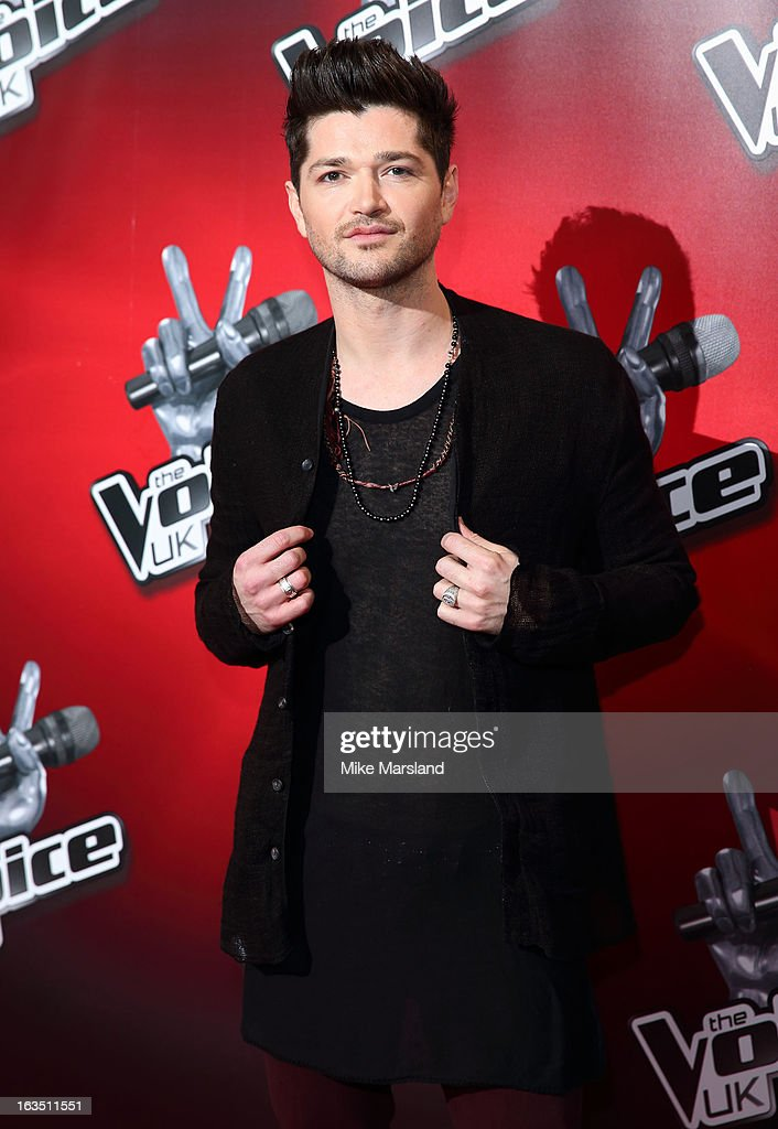 Danny O'Donoghue attends a photocall to launch the second series of The Voice at Soho Hotel on March 11, 2013 in London, England.