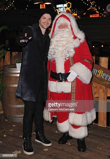 Danny O'Donoghue attends the Winter Wonderland VIP opening at Hyde Park on November 20 2014 in London England