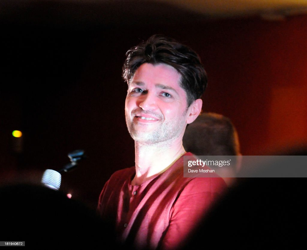 <a gi-track='captionPersonalityLinkClicked' href=/galleries/search?phrase=Danny+O%27Donoghue&family=editorial&specificpeople=5598563 ng-click='$event.stopPropagation()'>Danny O'Donoghue</a> from The Script performs at The Ivy House as part of the fifth annual Arthur's Day celebrations on September 26, 2013 in Dublin, Ireland. Arthur's Day sees fans come together to experience live music and cultural events in over 500 pubs around Ireland. This year Arthur's Day will spread beyond music to support, promote and showcase Ireland's innovators, artists, poets, writers and culinary experts. It promises to be an extraordinary night, featuring performances from hundreds of home grown acts, rising stars and other internationally renowned artists such as, The Script, James Vincent McMorrow, The Original Rudeboys, Girl Band, Bouts, Le Galaxie, Ham Sandwich, Daley, Manic Street Preachers, Emeli Sande, Janelle Monae, Biffy Clyro, Kodaline, Iggy Azalea and the legendary Bobby Womack. For more information visit www.guinness.com or www.facebook.com/Guinnessireland