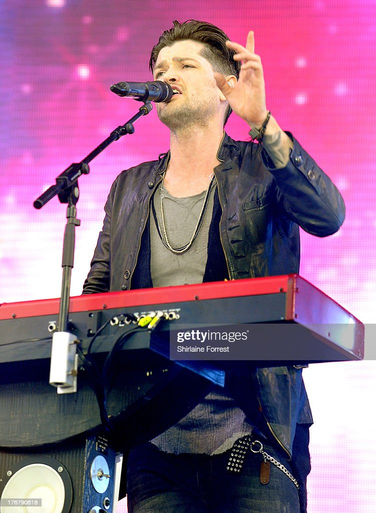 <a gi-track='captionPersonalityLinkClicked' href=/galleries/search?phrase=Danny+O%27Donoghue&family=editorial&specificpeople=5598563 ng-click='$event.stopPropagation()'>Danny O'Donoghue</a> of The Script performs on day 2 of the V Festival at Weston Park on August 18, 2013 in Stafford, England.
